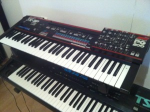 This is my JX-3P with some nasty sound problem :(