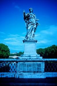 Bernini statue Rome, Ponte St Angelo